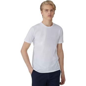 Oblačila Moški Majice s kratkimi rokavi Trussardi 52T00499-1T003614 Biely