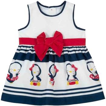 Oblačila Deklice Kratke obleke Chicco 09003809000000 Biely