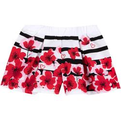 Oblačila Deklice Kratke hlače & Bermuda Chicco 09052954000000 Biely