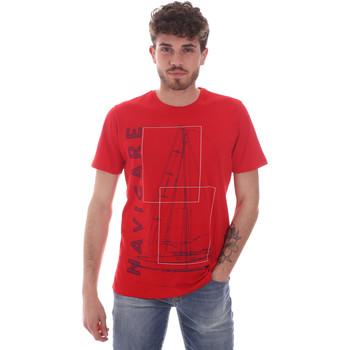 Oblačila Moški Majice s kratkimi rokavi Navigare NV31109 Rdeča