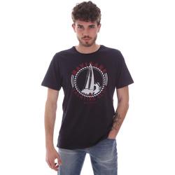 Oblačila Moški Majice s kratkimi rokavi Navigare NV31113 Modra