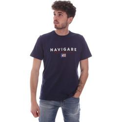 Oblačila Moški Majice s kratkimi rokavi Navigare NV31139 Modra