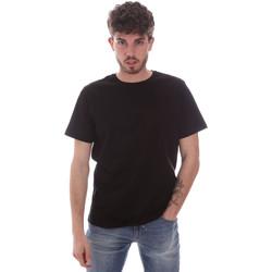 Oblačila Moški Majice s kratkimi rokavi Navigare NV71003 Črna
