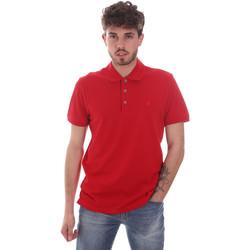 Oblačila Moški Polo majice kratki rokavi Navigare NV82108 Rdeča