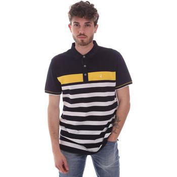 Oblačila Moški Polo majice kratki rokavi Navigare NV70028 Modra