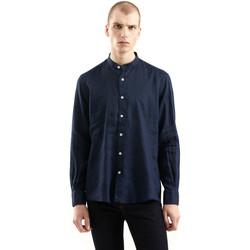 Oblačila Moški Srajce z dolgimi rokavi Refrigiwear RM0C10100LI9110 Modra
