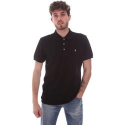 Oblačila Moški Polo majice kratki rokavi Navigare NV82108 Črna