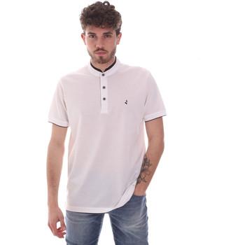 Oblačila Moški Polo majice kratki rokavi Navigare NV72072 Biely