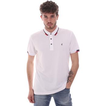 Oblačila Moški Polo majice kratki rokavi Navigare NV82113 Biely