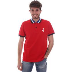 Oblačila Moški Polo majice kratki rokavi Navigare NV82116 Rdeča