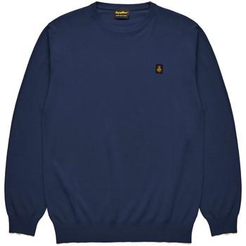 Oblačila Moški Puloverji Refrigiwear RM0M25800MA9375 Modra