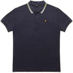 Oblačila Moški Polo majice kratki rokavi Refrigiwear RM0T24000PX9032 Modra