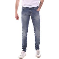 Oblačila Moški Jeans straight Antony Morato MMDT00234 FA750292 Modra