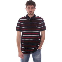 Oblačila Moški Polo majice kratki rokavi Navigare NV70029 Modra