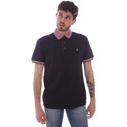 Oblačila Moški Polo majice kratki rokavi Navigare NV82125 Modra