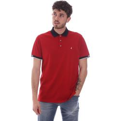 Oblačila Moški Polo majice kratki rokavi Navigare NV72058 Rdeča