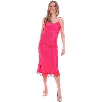 Oblačila Ženske Kratke obleke Cristinaeffe 0731 2475 Roza