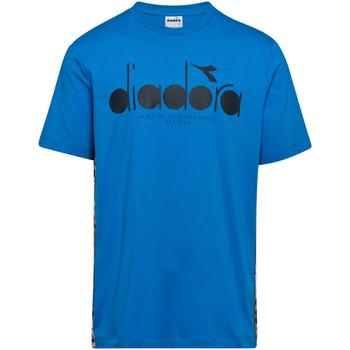 Oblačila Moški Majice s kratkimi rokavi Diadora 502176630 Modra