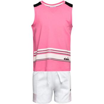 Oblačila Otroci Otroški kompleti Diadora 102175915 Roza