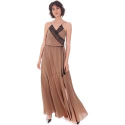 Oblačila Ženske Dolge obleke Cristinaeffe 0704 2498 Bež