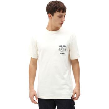Oblačila Moški Majice s kratkimi rokavi Dickies DK0A4X9NECR1 Biely