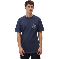 Oblačila Moški Majice s kratkimi rokavi Dickies DK0A4X9NNV01 Modra