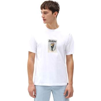 Oblačila Moški Majice s kratkimi rokavi Dickies DK0A4X9IWHX1 Biely