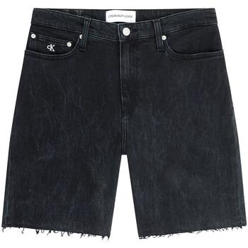 Oblačila Ženske Kratke hlače & Bermuda Calvin Klein Jeans J20J216082 Črna