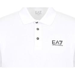 Oblačila Moški Polo majice kratki rokavi Ea7 Emporio Armani 8NPF04 PJM5Z Biely