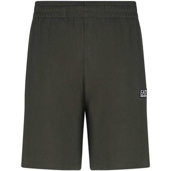 Oblačila Moški Kratke hlače & Bermuda Ea7 Emporio Armani 3KPS53 PJ7BZ Zelena
