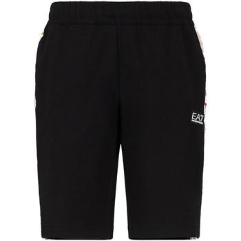 Oblačila Moški Kratke hlače & Bermuda Ea7 Emporio Armani 3KPS81 PJ05Z Črna