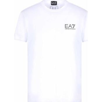 Oblačila Moški Majice s kratkimi rokavi Ea7 Emporio Armani 3KPT06 PJ03Z Biely