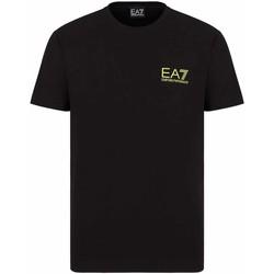 Oblačila Moški Majice s kratkimi rokavi Ea7 Emporio Armani 3KPT06 PJ03Z Črna