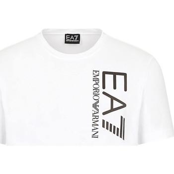 Oblačila Moški Majice s kratkimi rokavi Ea7 Emporio Armani 3KPT10 PJ7RZ Biely