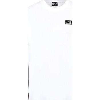 Oblačila Moški Majice s kratkimi rokavi Ea7 Emporio Armani 3KPT13 PJ02Z Biely