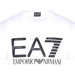 Oblačila Moški Majice s kratkimi rokavi Ea7 Emporio Armani 3KPT27 PJ7CZ Biely