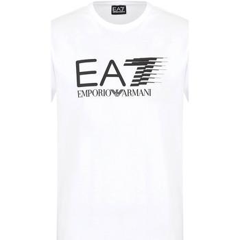 Oblačila Moški Majice s kratkimi rokavi Ea7 Emporio Armani 3KPT39 PJ02Z Biely