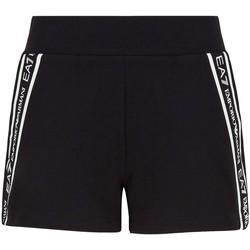 Oblačila Ženske Kratke hlače & Bermuda Ea7 Emporio Armani 3KTS59 TJ5FZ Črna