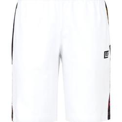 Oblačila Moški Kopalke / Kopalne hlače Ea7 Emporio Armani 3KPS81 PJ05Z Biely