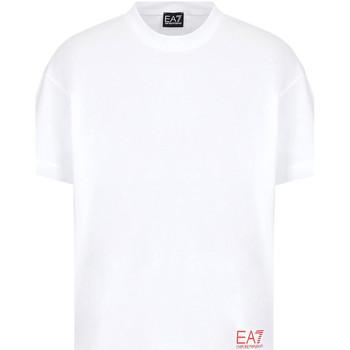 Oblačila Moški Majice s kratkimi rokavi Ea7 Emporio Armani 3KPT58 PJ02Z Biely