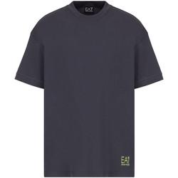 Oblačila Moški Majice s kratkimi rokavi Ea7 Emporio Armani 3KPT58 PJ02Z Siva