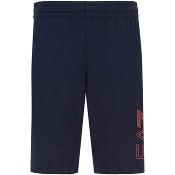 Oblačila Moški Kratke hlače & Bermuda Ea7 Emporio Armani 3KPS57 PJ05Z Modra