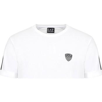 Oblačila Moški Majice s kratkimi rokavi Ea7 Emporio Armani 3KPT56 PJ4MZ Biely