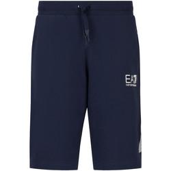 Oblačila Moški Kratke hlače & Bermuda Ea7 Emporio Armani 3KPS67 PJ05Z Modra