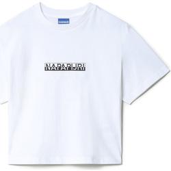 Oblačila Ženske Majice s kratkimi rokavi Napapijri NP0A4EYZ Biely
