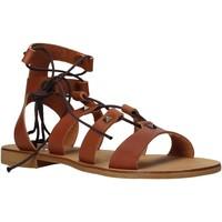 Čevlji  Ženske Sandali & Odprti čevlji Keys K-4880 Rjav