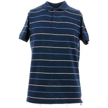Oblačila Moški Polo majice kratki rokavi City Wear THMR5171 Modra