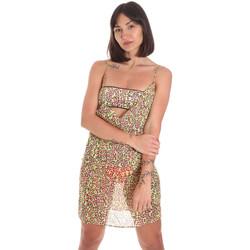 Oblačila Ženske Kratke obleke Me Fui M20-0456X2 Rumena