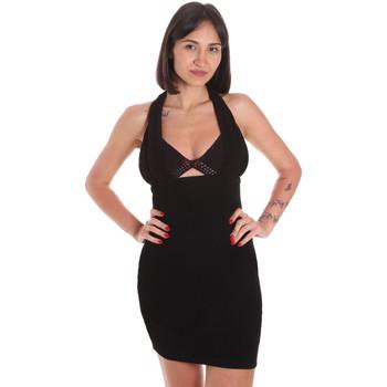 Oblačila Ženske Kratke obleke Me Fui M20-0354NR Črna