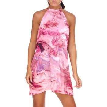 Oblačila Ženske Tunike Me Fui M20-0960X1 Roza